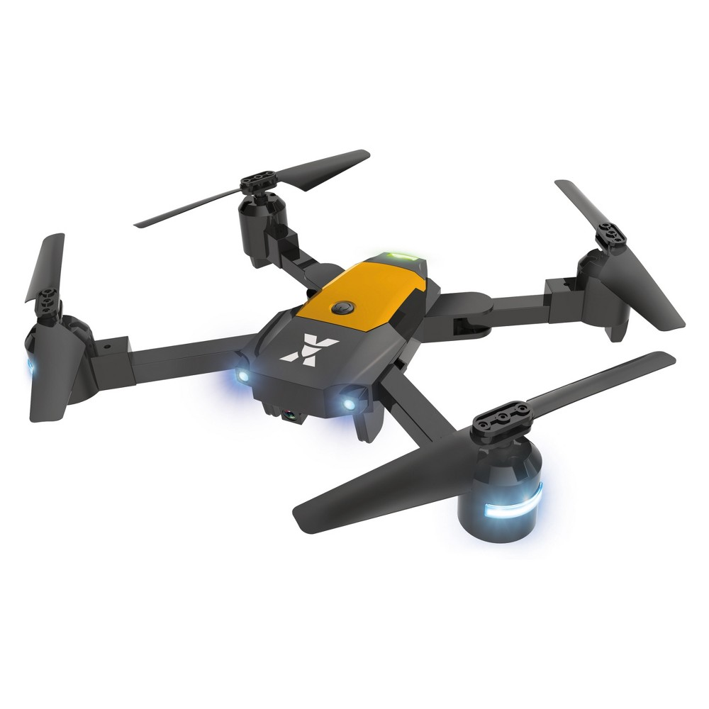 XDrone X- Foldable Drone, Drones XDrone X- Foldable drone with altitude hold, one key take off/landing, 3D flip, app control
