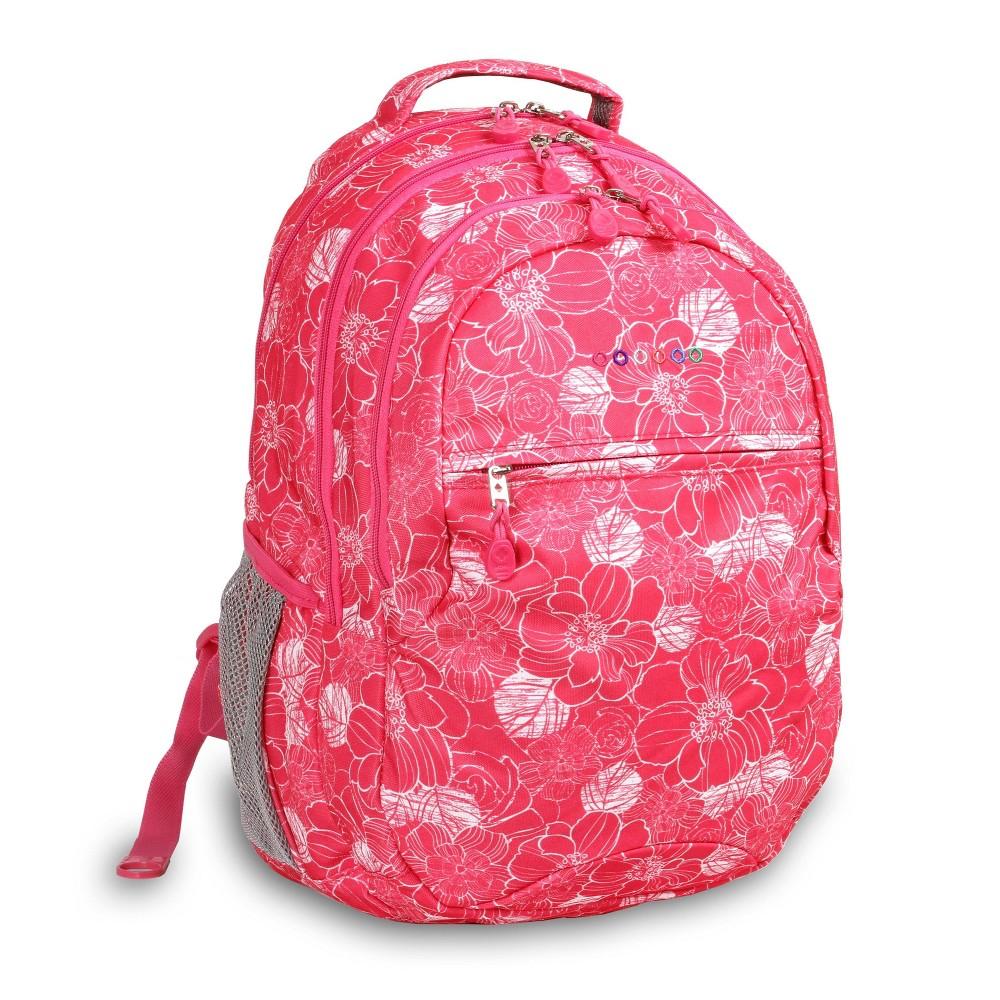 J World 19 34 Cornelia Laptop Backpack Aloha Pink