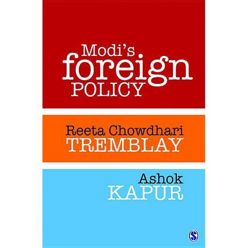 Modi's Foreign Policy - by  Reeta Chowdhari Tremblay & Ashok Kapur (Hardcover) - image 1 of 1