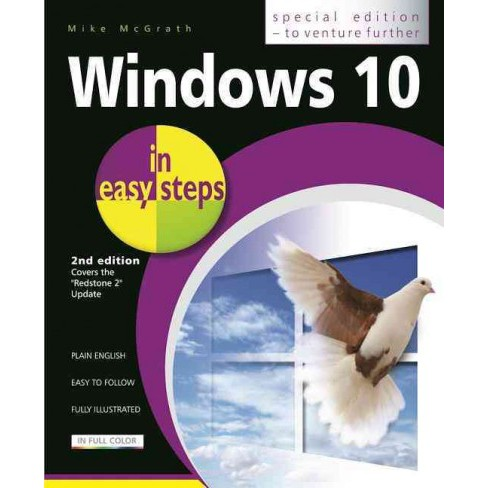 Windows 10 in Easy Steps : Covers the Creators Update (Paperback) (Mike McGrath) - image 1 of 1