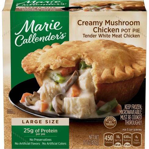 Marie Callendar's Frozen Creamy Mushroom Chicken Pot Pie - 15oz - image 1 of 3