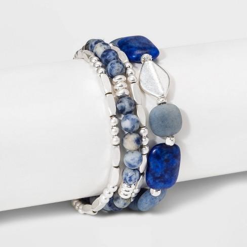 Semi-Precious Stretch Bracelet - Universal Thread™ - image 1 of 1