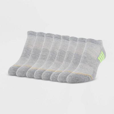 All Pro Women's Extended Size Aqua FX Heel Toe Cushioned 6+2 Bonus Pack No Show Athletic Socks - 8-12