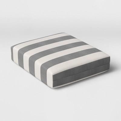 Cabana Stripe Outdoor Seat Cushion DuraSeason Fabric™ - Threshold™