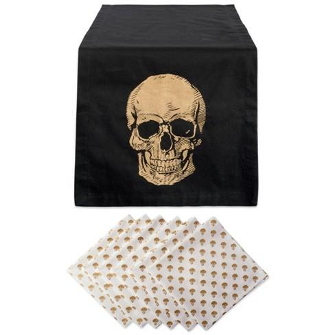 Skull Table Set Gold - Design Imports - image 1 of 4