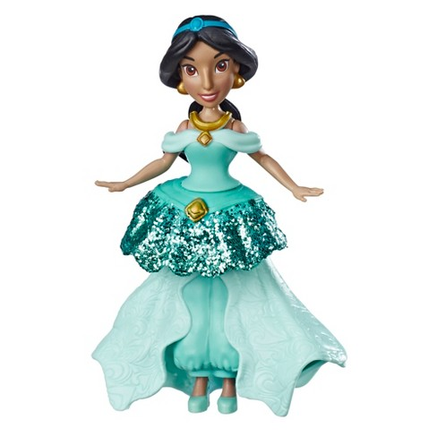 Disney Princess Jasmine Doll With Royal Clips Fashion One Clip