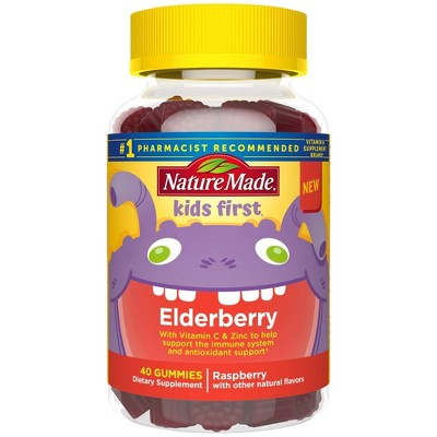 Nature Made Kids First Elderberry Gummies - 40ct