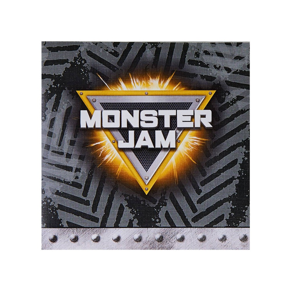 Image of Monster Jam 16ct Beverage Napkin