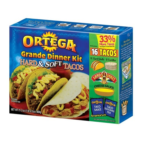 Ortega Hard & Soft Taco Grande Dinner Kit 21.3-oz. - image 1 of 1
