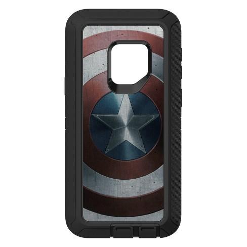 designer fashion c7203 6ffc9 OtterBox Samsung Galaxy S9 Marvel Defender Case - Captain America