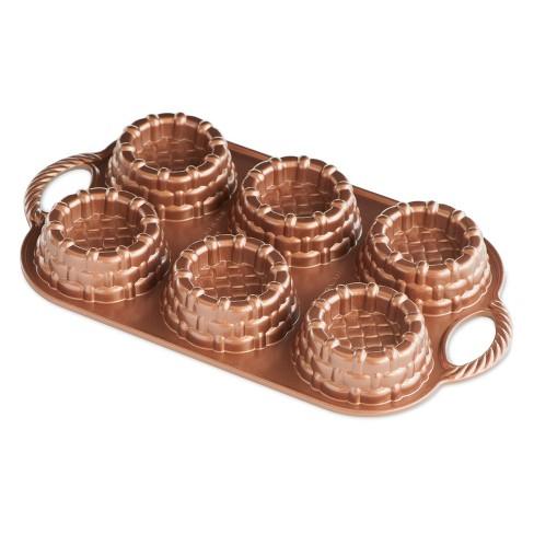 Nordic Ware Cast-Aluminum Nonstick Baking Pan, Shortcake Baskets - image 1 of 3