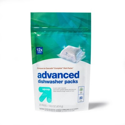 Fresh Scent Advanced Dishwasher Detergent Packs - up & up™