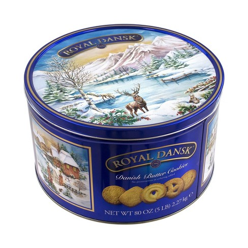 Royal Dansk Danish Butter Cookies 4lbs