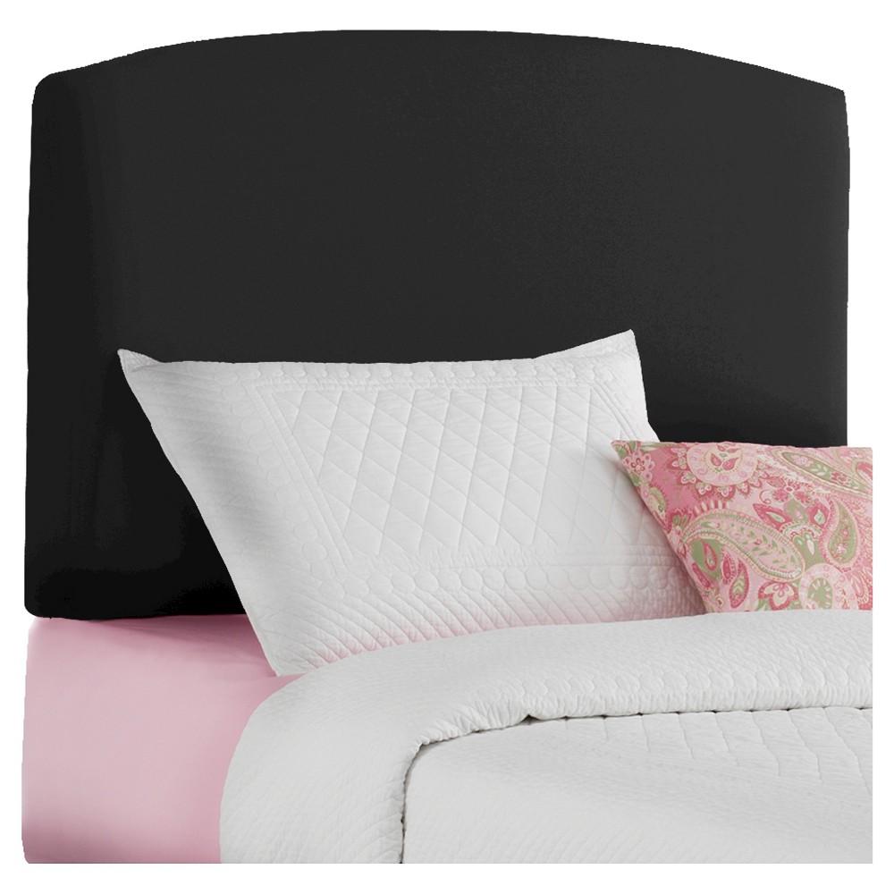 Twin Kids Upholstered Headboard Black - Pillowfort