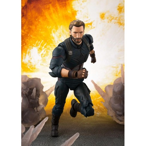 S.H.Figuarts - Avengers - Infinity War - Captain America & Tamashii Effect Explosion Action figures - image 1 of 1