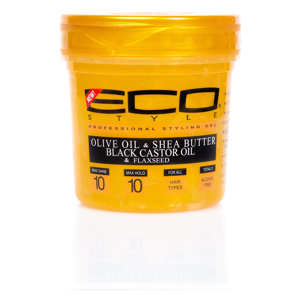 Image of Eco Style Professional Styling Gel Gold - 16 fl oz