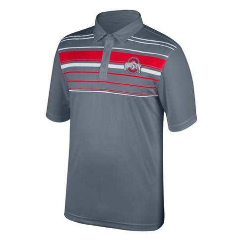 NCAA Men's Breezeway Polo Shirt Ohio State Buckeyes - image 1 of 1