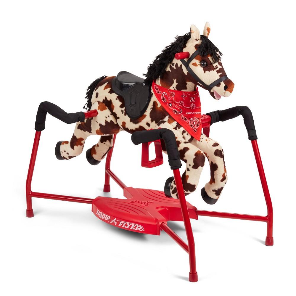 Radio Flyer Freckles Interactive Riding Horse