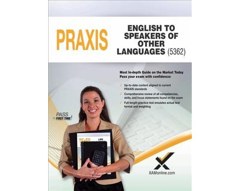 Praxis English to Speakers of Other Languages (ESOL) 5362 (Paperback) (Sharon Wynne) - image 1 of 1
