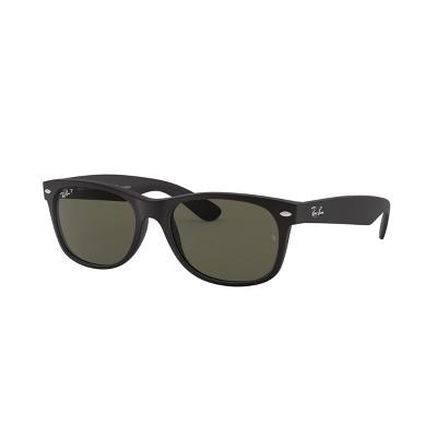 Ray-Ban RB2132 55mm New Wayfarer Unisex Square Sunglasses Polarized