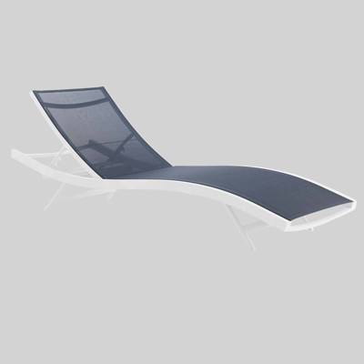 Glimpse Outdoor Patio Mesh Chaise Lounge Chair - Modway