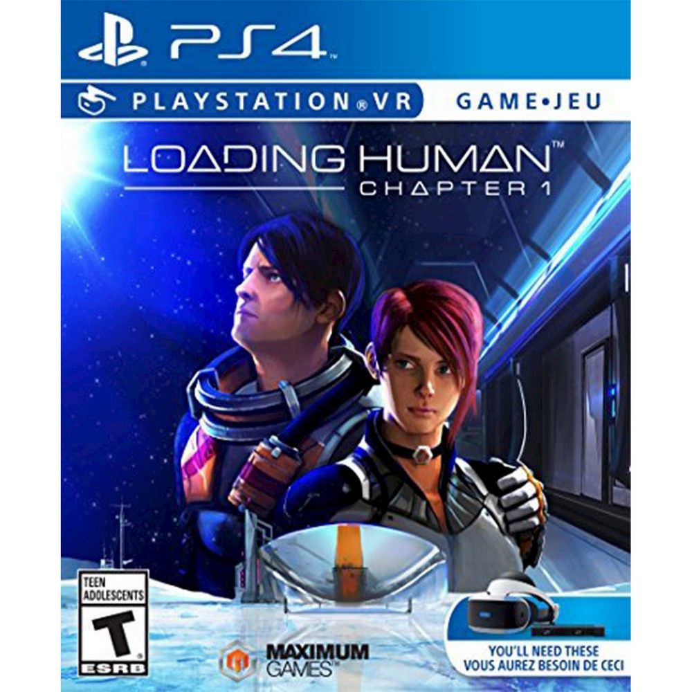 Loading Human Chapter 1 PlayStation 4 Immerse yourself in the future of gaming with Loading Human - Chapter 1 (PlayStation 4) - Maximum Games. The Virtual Reality game is compatible with PlayStation 4 consoles, but requires additional VR hardware (sold separately). The video game is recommended for ages 13 and older.