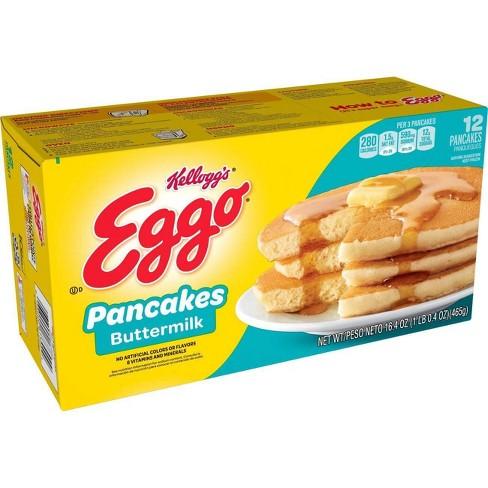 Kellogg's Eggo Frozen Buttermilk Pancakes - 16.4oz/12ct - image 1 of 4