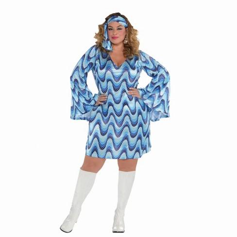 Adult Disco Lady Halloween Costume XXL (18-20) - image 1 of 1