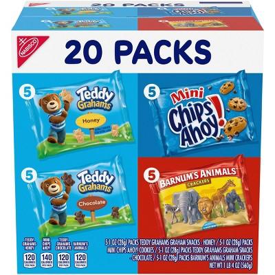 Nabisco Fun Shapes Cookies & Crackers Mix - 20oz