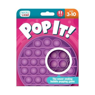 Chuckle & Roar Pop It! Fidget and Sensory Game - Purple