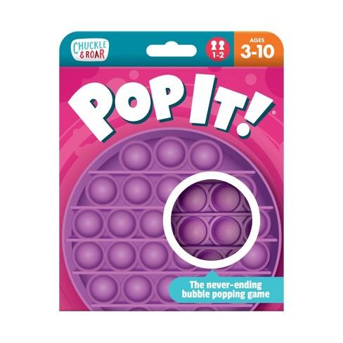 Chuckle & Roar Pop It! Fidget and Sensory Game - Purple - image 1 of 4