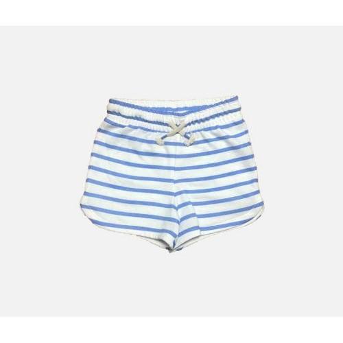 Girls Knit Pull On Shorts Cat Jack Blue XS