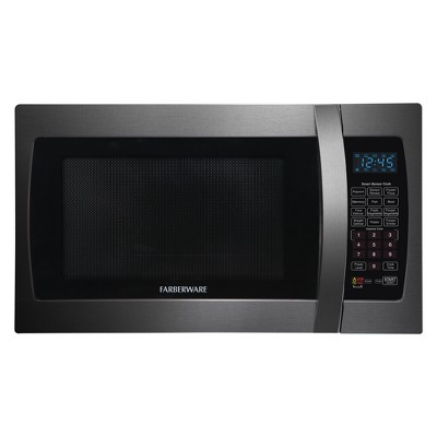 Farberware 1.3 cu ft 1100W Microwave Black FMO13AHTBSE