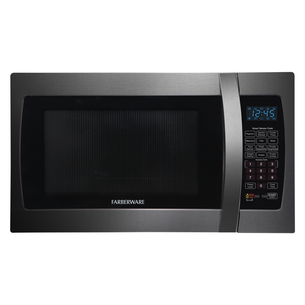 Farberware 1.3 cu ft 1100W Microwave – Black FMO13AHTBSE 53408507