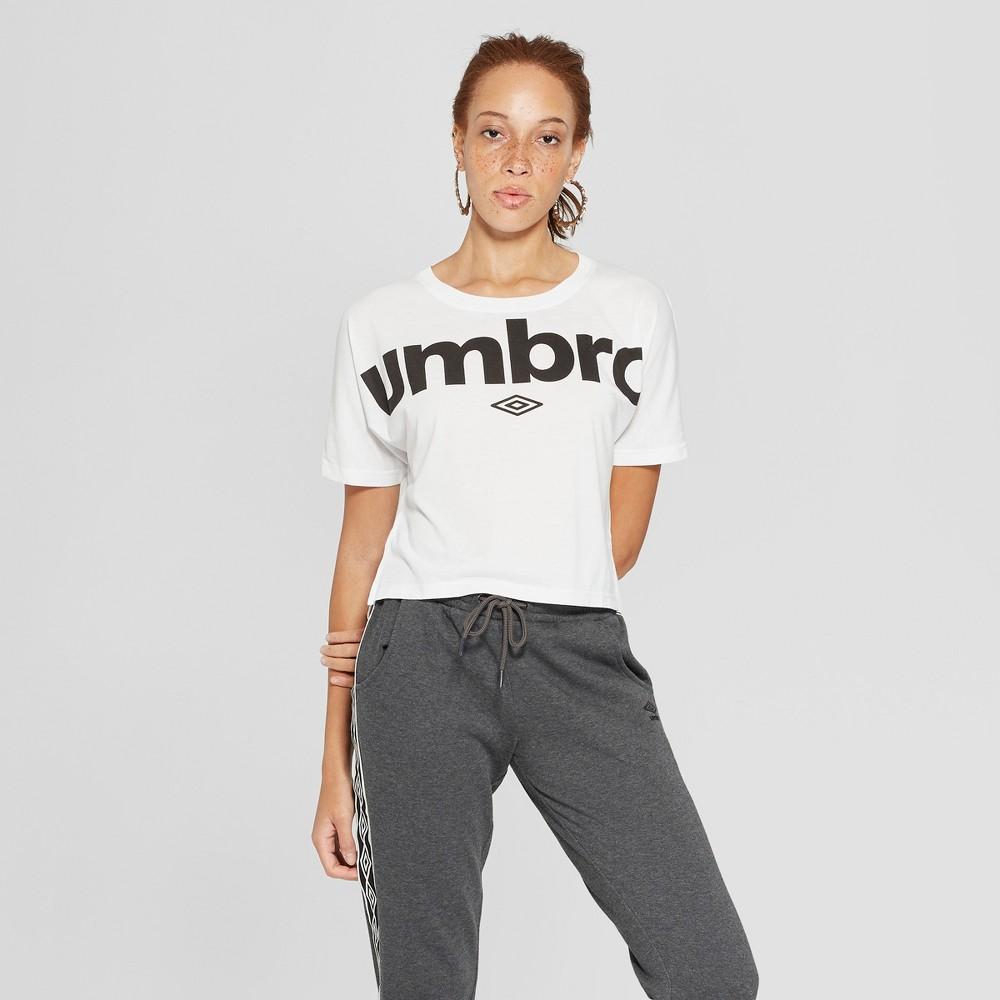 Umbro Women's Logo T-Shirt - White S