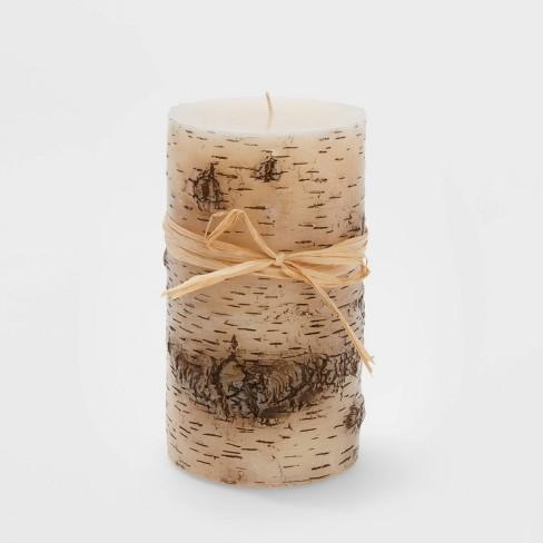 Large Birch Christmas Flame Candle - Wondershop™ - image 1 of 1