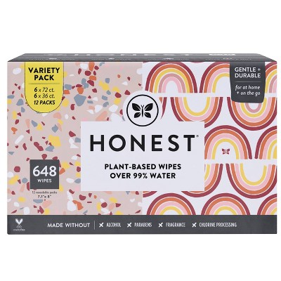The Honest Company Variety Pack Baby Wipes - 648ct