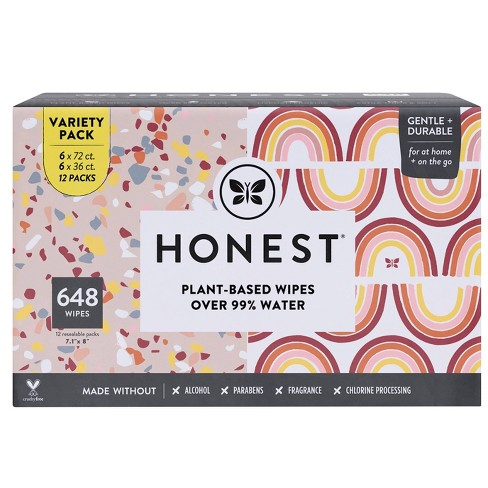 The Honest Company Variety Pack Baby Wipes - 648ct - image 1 of 4