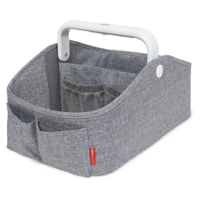 Skip Hop Light-Up Diaper Caddy - Heather Gray