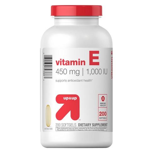 Vitamin E 1000iu Softgels 200ct Up Up Target