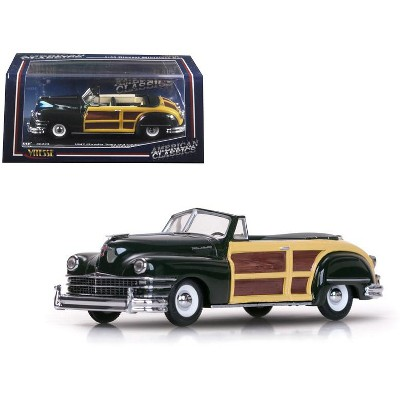 1947 Chrysler Town and Country Meadow Green 1/43 Diecast Model Car by Vitesse