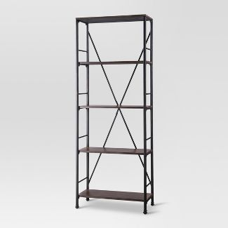 "70.6"" 4 Shelf Bookcase - Brown - Threshold™"
