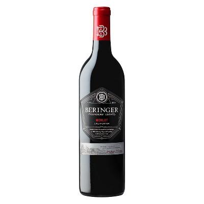 Beringer Founder's Estate Merlot Red Wine - 750ml Bottle