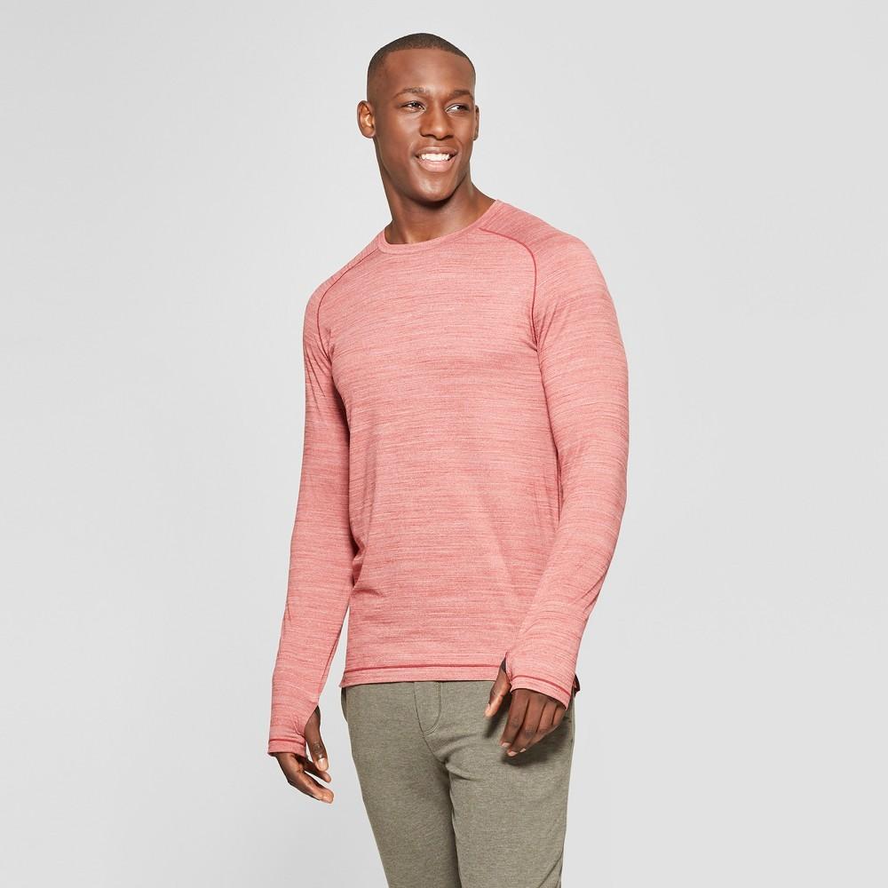 Men's Long Sleeve Soft Touch T-Shirt - C9 Champion Autumn Clay Heather XL