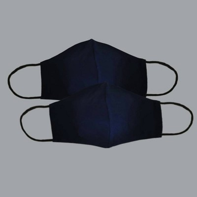 2pk Adult Fabric Face Mask
