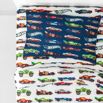 Hot Wheels 3pc Twin Microfiber Sheet Set