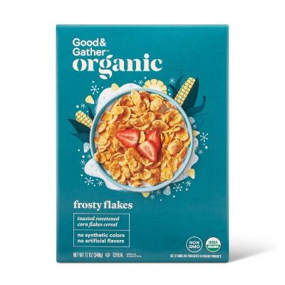 Organic Frosty Flakes 12oz - Good & Gather™