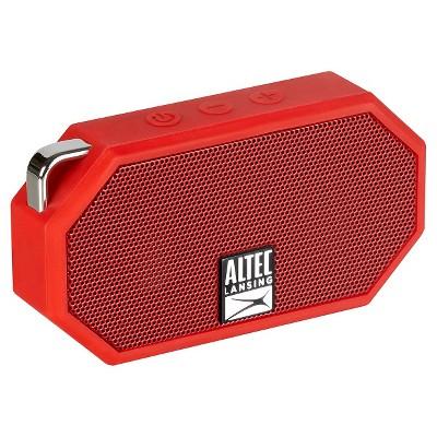 Altec Mini H2O Bluetooth Waterproof Speaker - Red