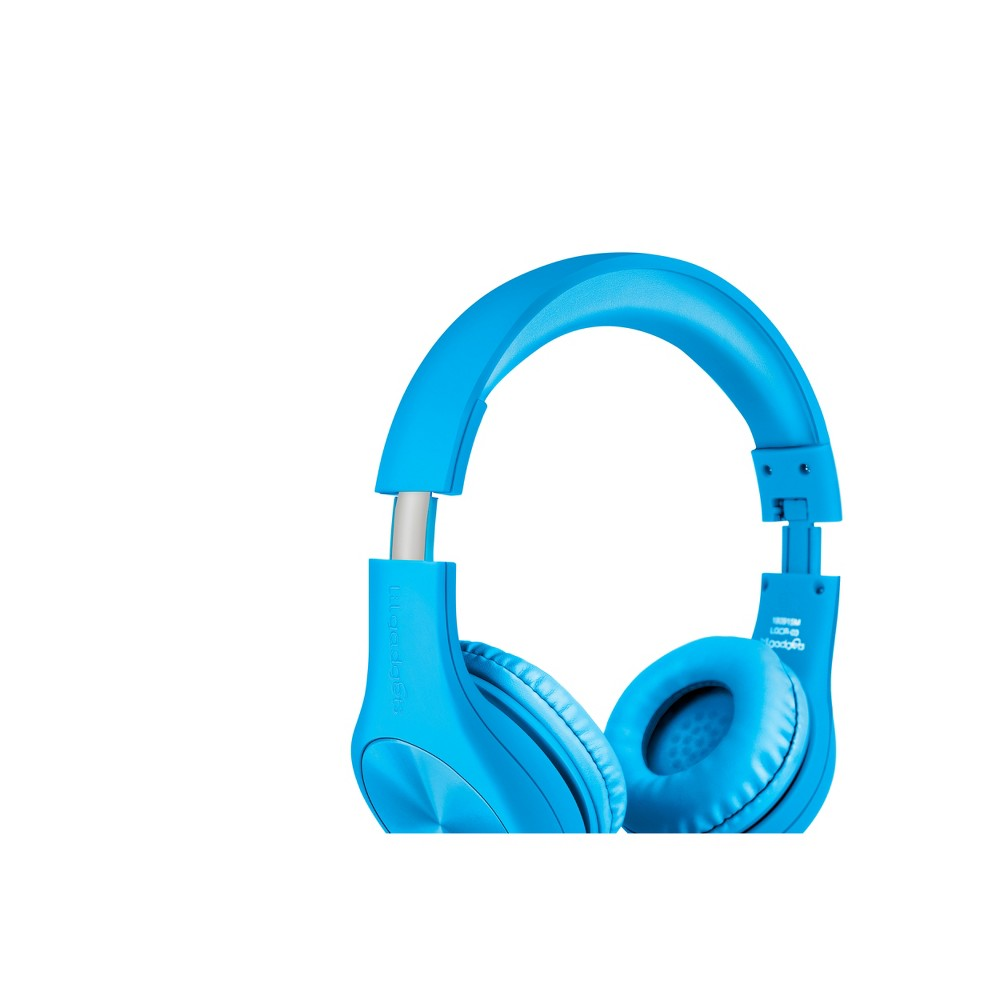 LilGadgets Connect+ Pro Kids Wired Headphones - Blue