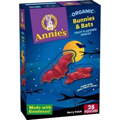 Annie's Bunnies and Bats Fruit Snacks - 11.2oz 28ct